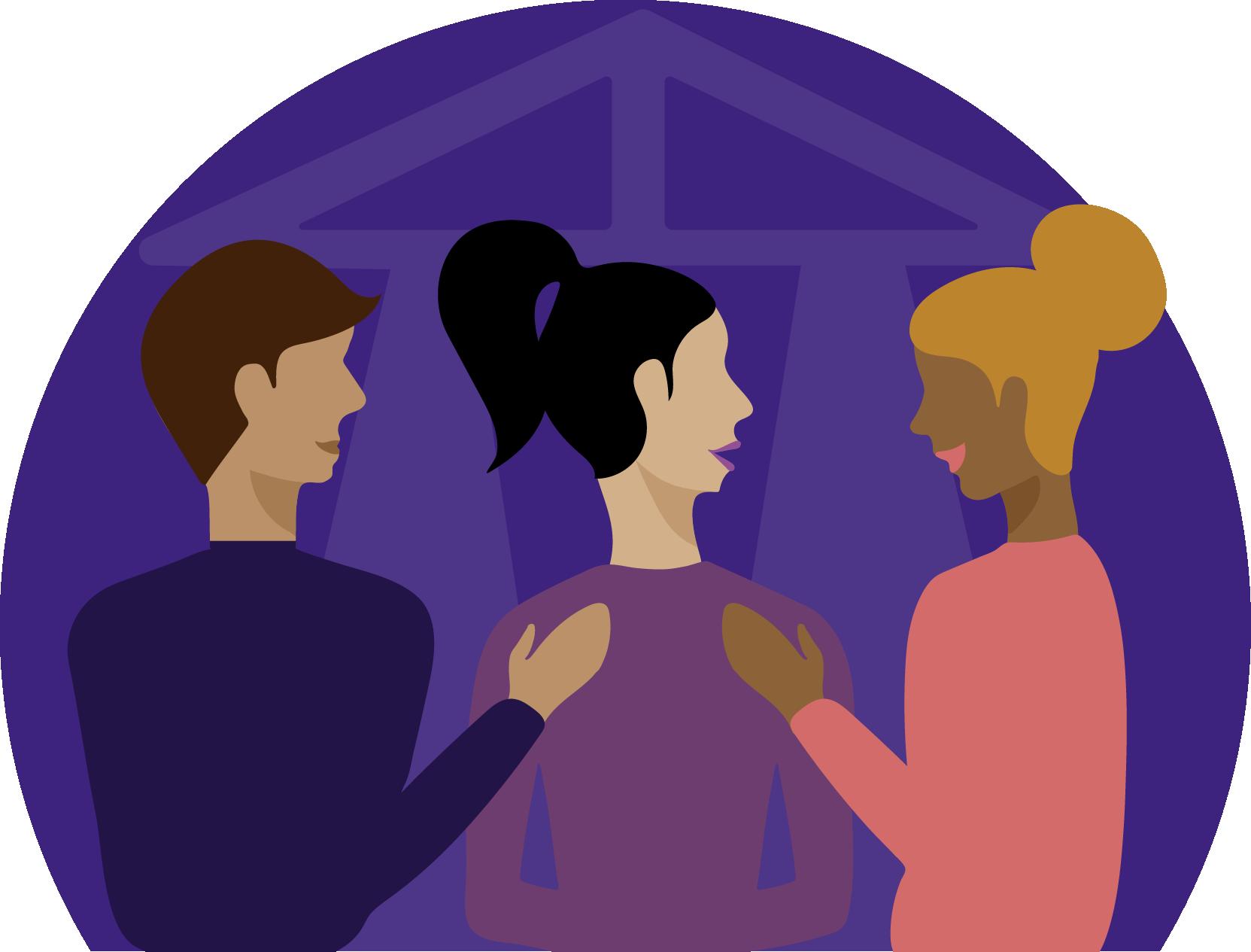 Behavioral Health Treatment Center Illustration