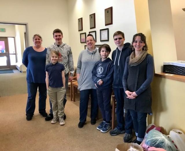 AK Family Services Staff & Family